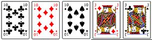 Poker Hände - Full House