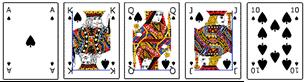 Poker Hände - Royal Flush