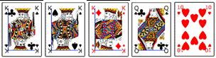 Poker Hände - Three of a Kind